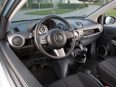 2009 Mazda 2 3-Door Interior