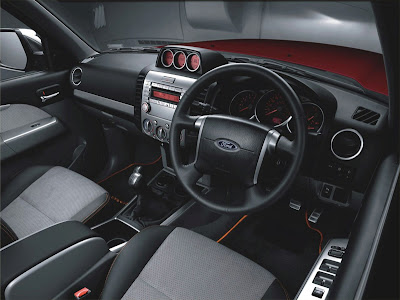 2010 Ford Ranger Interior