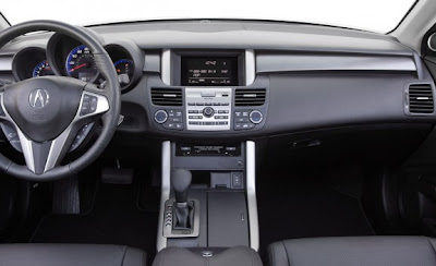 2010 Acura RDX interior
