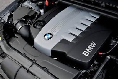 2009 BMW 330d Sedan engine