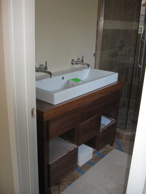 Master bath trough