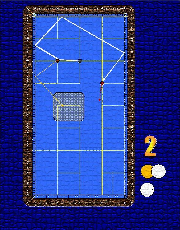 juego billar tres banda: