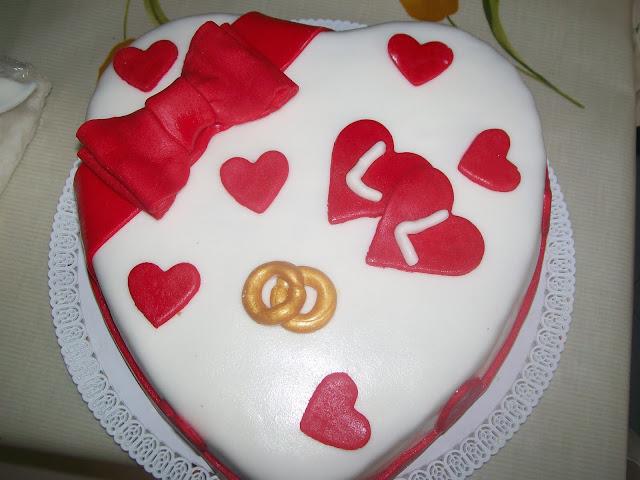 Famoso DELIZIE & PASTICCI: Torte anniversario di matrimonio FJ06