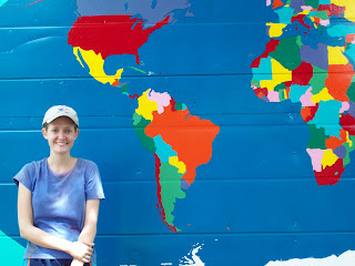 Fran in peace corps philippines our world map project our world map project gumiabroncs Gallery