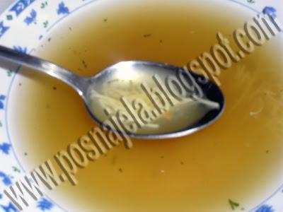Supa i čušpajz od pasulja na vodi