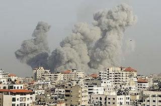 Bumi Palectin Berdarah Kembali... Serangan+israel-gaza