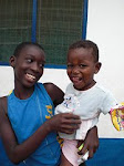 1st pic of our precious children in Ghana 2009!