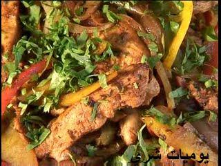 ساندويتشلت الفاهيتا المكسيكية How+To+Make+Chicken+Fajitas+Recipe+%28Food+%26+Drink-+Chicken%29_012