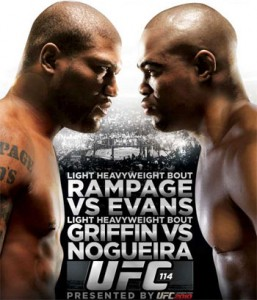 The UFC 114 Rampage Jackson vs Rashad Evans