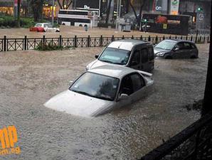 Singapore Flood 2010