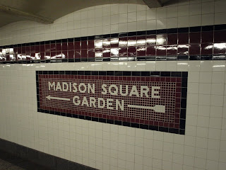 MSG Subway Station