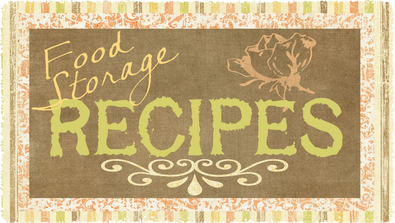 Food storage recipes helping you be food prepared