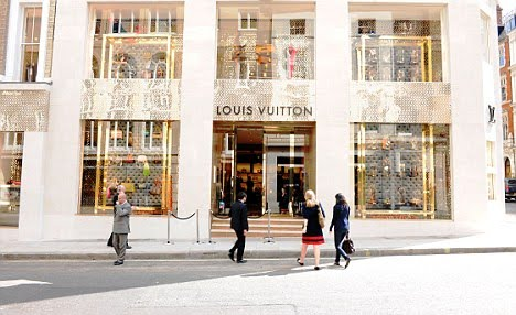 Creative CoLab+: The new Louis Vuitton store on New Bond ...