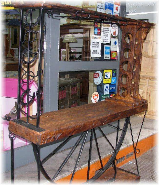 Arteklace artesanias muebles de campo for Campo semantico de muebles