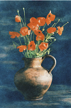 Poppy vase