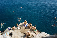Swimmers in Croatia