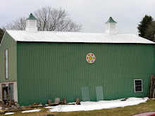 Barn with hex sign