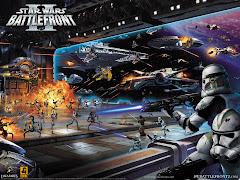 Mi videojuego favorito:Star Wars Battlefront 2.