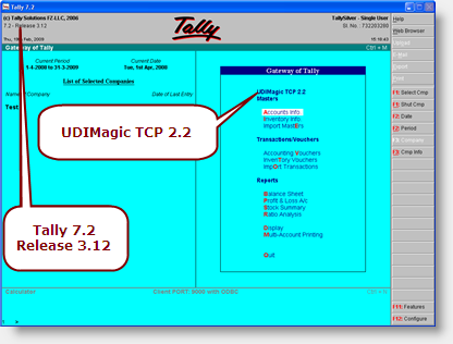 Tally 7.2 Accounting Software With Crack