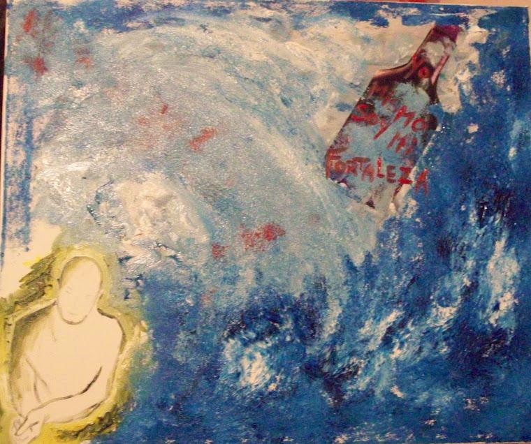 Mi mar y mi mensaje en una botella