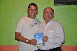 Valter Lima e o escritor Audir Paiva