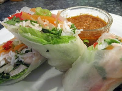 Tofu Yu 2: Summer Rolls (Vietnamese-style) In Winter