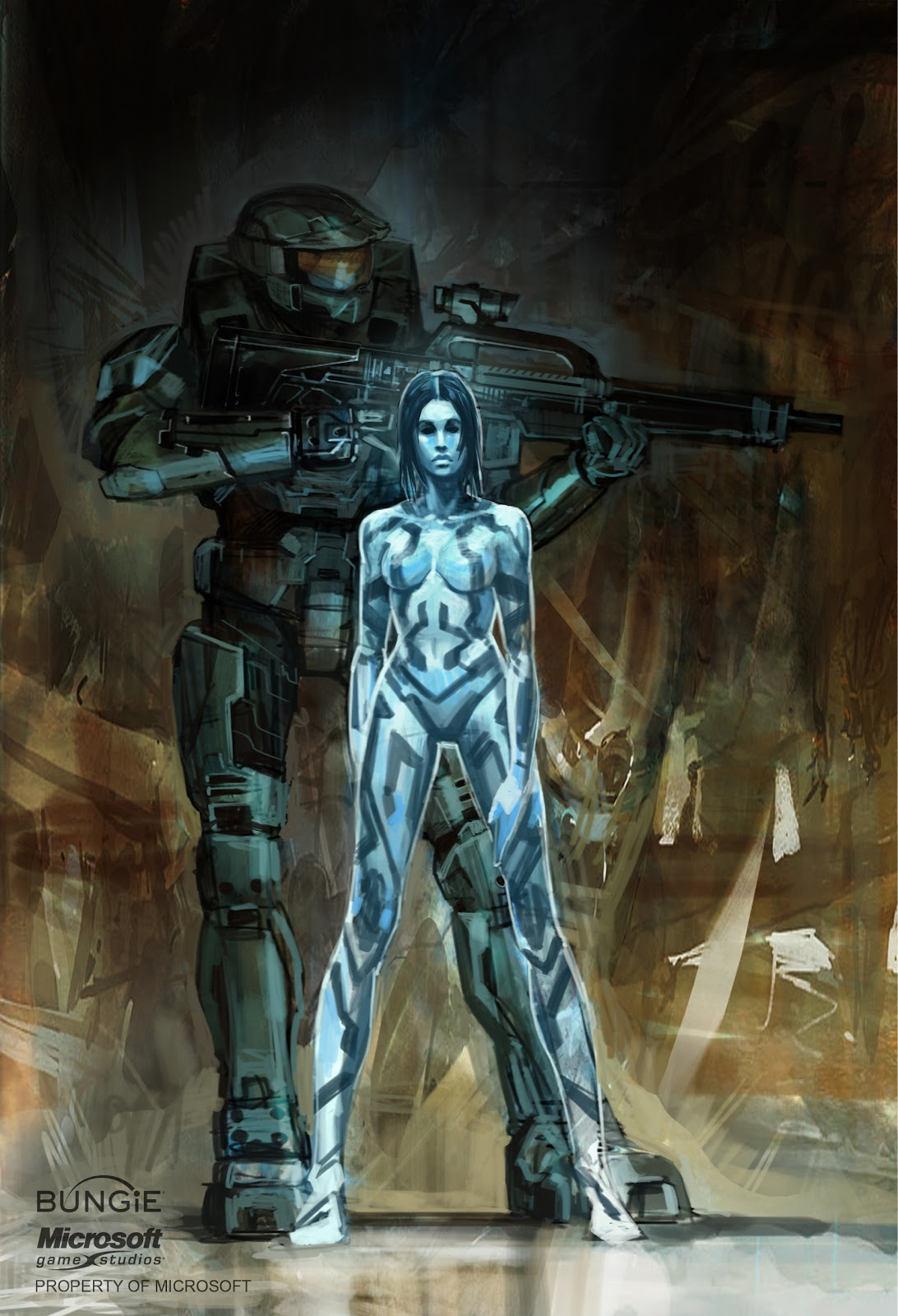 Halo 3 concept art  (update) 1/22/10