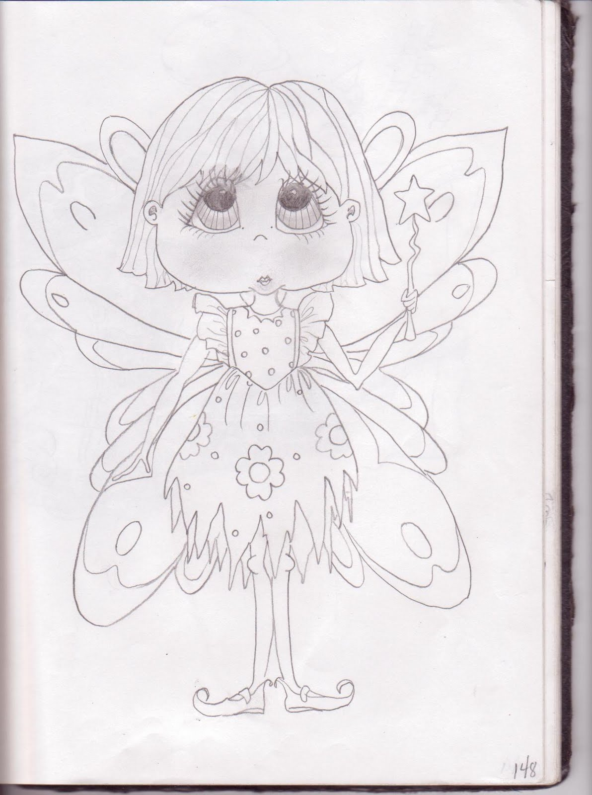 kailyn u0027s bit of sunshine sketch book valentine fairy mother mary