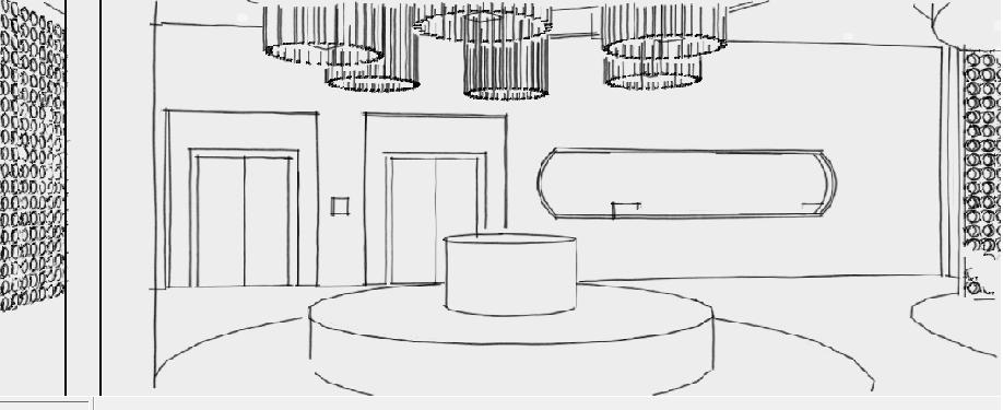Ms dise adora de interiores tp2 remodelaci n lobby hotel tower - Disenadora de interiores ...