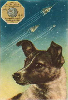 Laika the Russian Space Dog