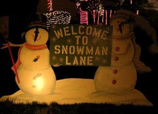 Snowman Lane