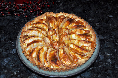 Marriage Factory: Apple Tart with Caramel Sauce