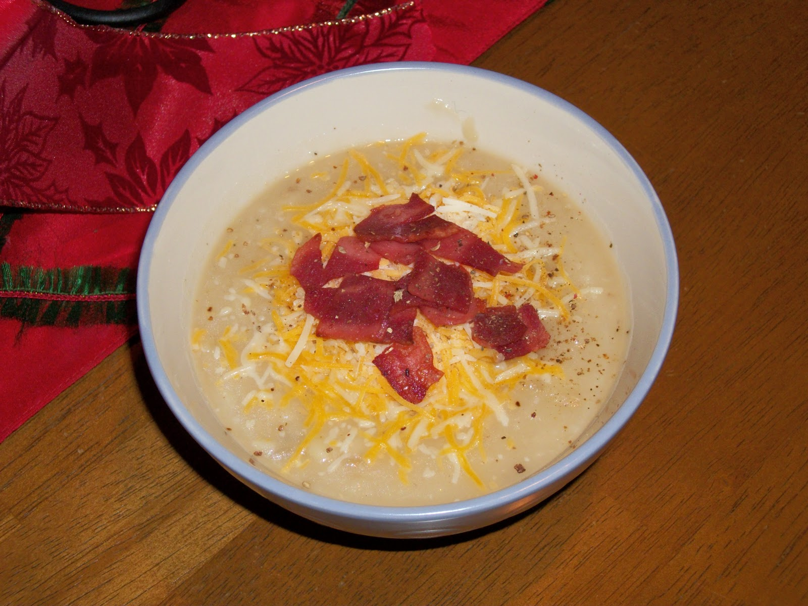 The Bird in Boots: Loaded Baked Potato Soup