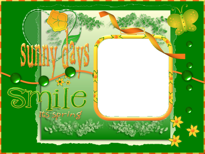 Smile, it's Spring Quick Page