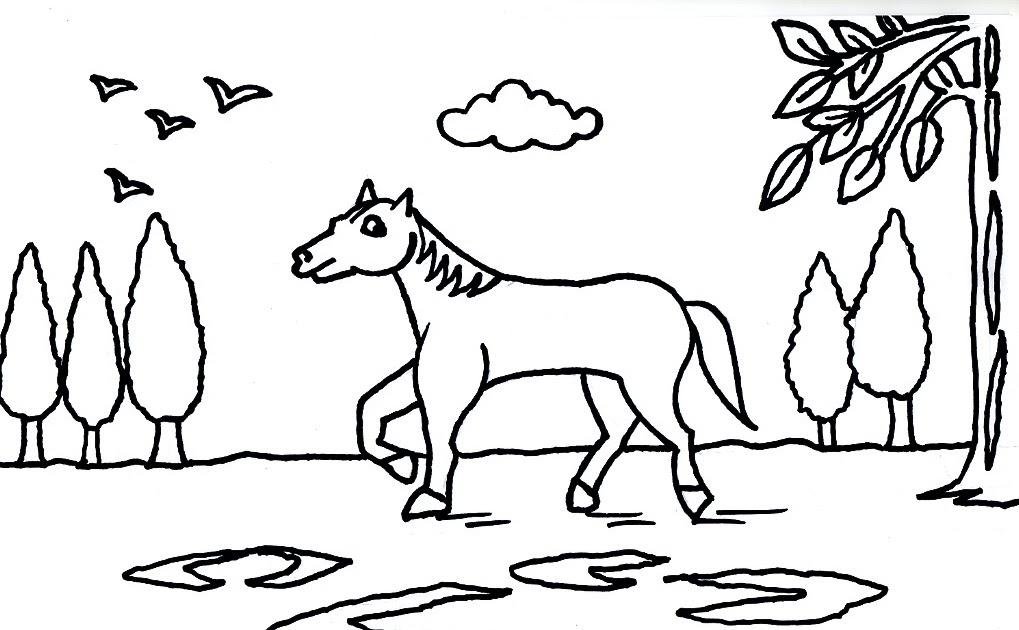 Lujoso Granero De Caballos Para Colorear Patrón - Dibujos Para ...