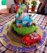 Crystals Disney Cars cake