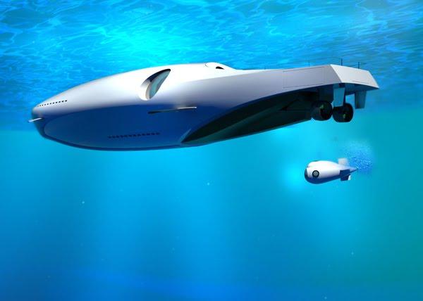 U-101 Undersea Luxury Yacht