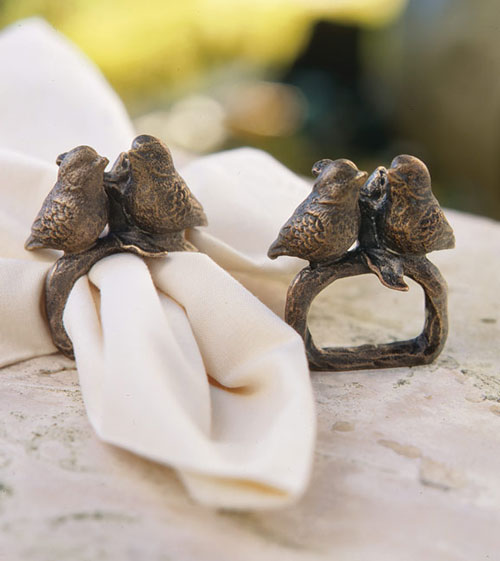 Stylish Serviette Ring Set Seen On www.coolpicturegallery.us