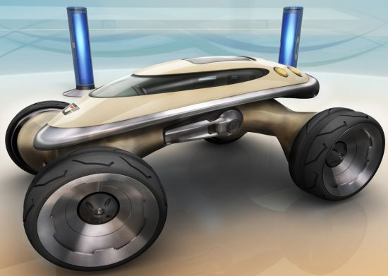 HumVee Evo amphibious vehicle runs on fuel cells Seen On www.coolpicturegallery.us