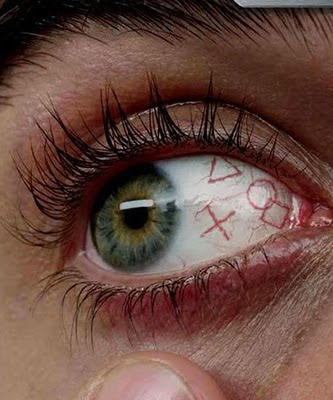 Extreme Eye Tattoo Design
