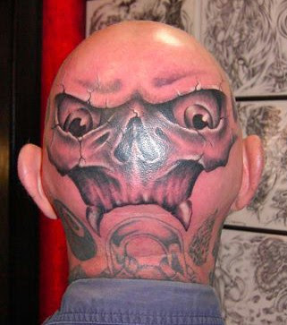 Unique Head Tattoo Designs