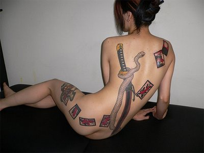 images courtesy of Hebrew Tattoos Beautiful Japanese Tattoo for Girls