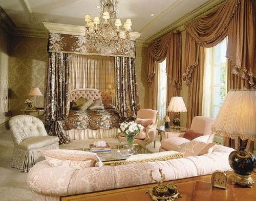 Modern and luxury bedroom design interior ideas for Luxurious bedroom interior design ideas