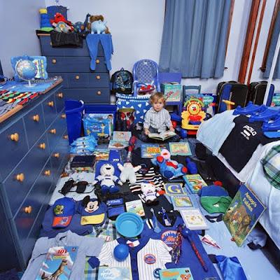 Cool Boy Blue Room - Kids Room Design 2