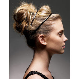 Long Bun Hairstyle Picture
