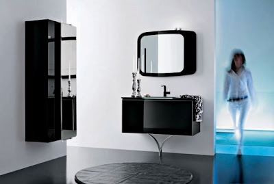 Modern Bathroom Glass Decoration
