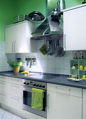 Green Kitchen Design 4