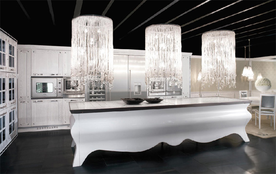 Luxury White Kitchens innovative kitchen luxury white