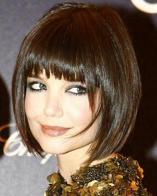long fringe hairstyle. short hairstyles