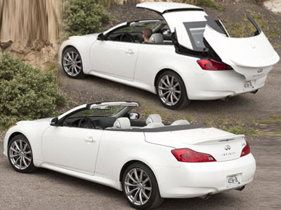 Infiniti G37S Convertible Sports Car Coupe